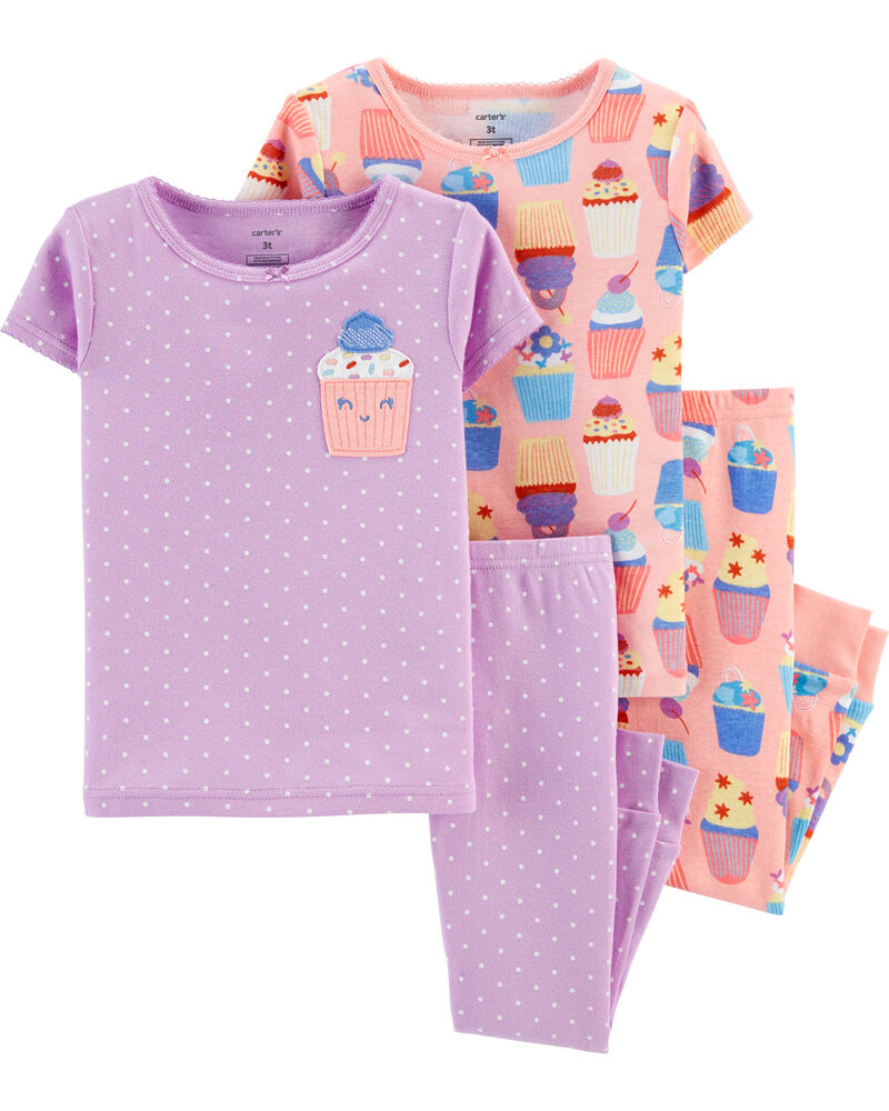 Carter/'s Baby /& Toddler Girl/'s Outfits Mommy Loves Me Cupcakes Shorts Pants