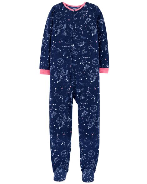 d12c6dfd47d2 1-Piece Constellation Fleece PJs