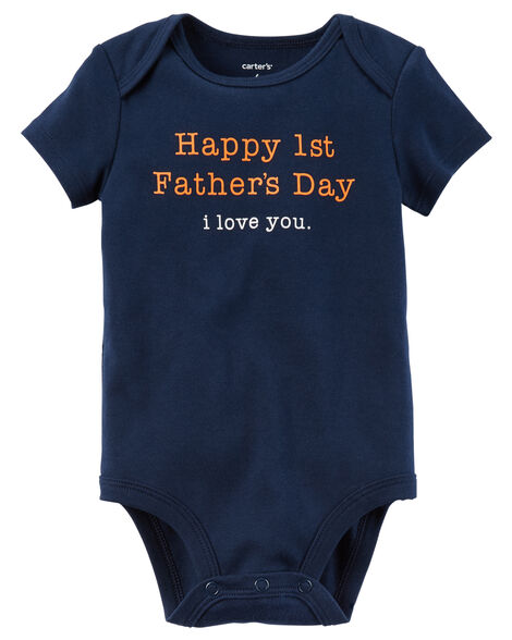 053de9986 First Father's Day Collectible Bodysuit | Carters.com