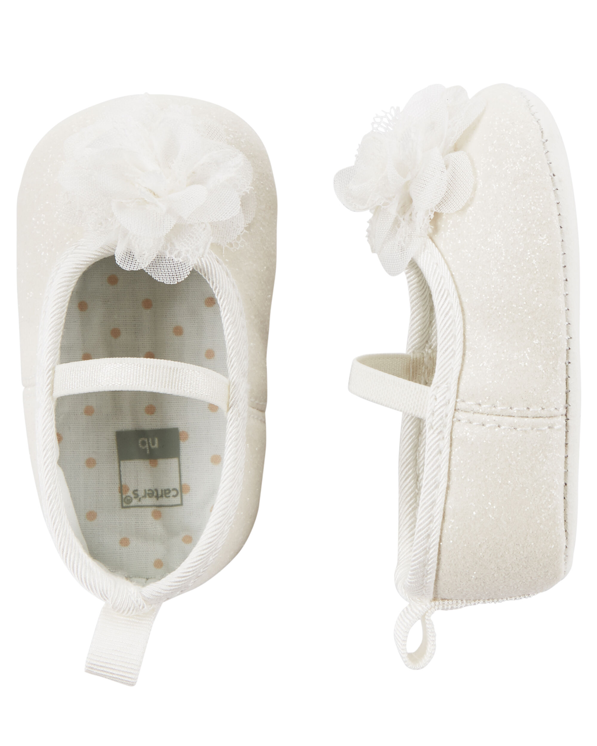 Carter s Ballet Mary Jane Crib Shoes