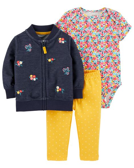 18d847ef3 3-Piece Little Jacket Set