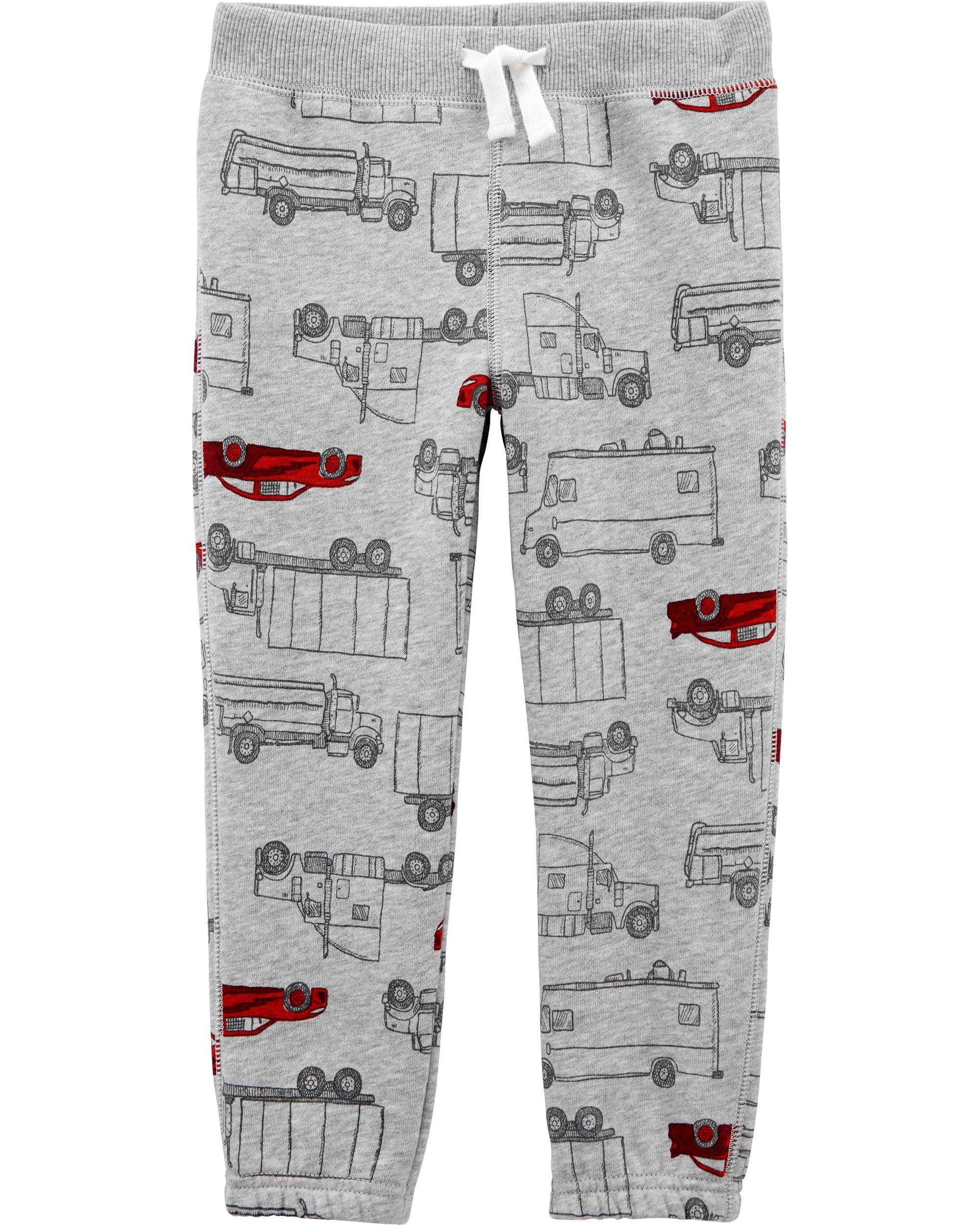 *DOORBUSTER* Car Pull-On Fleece Pants