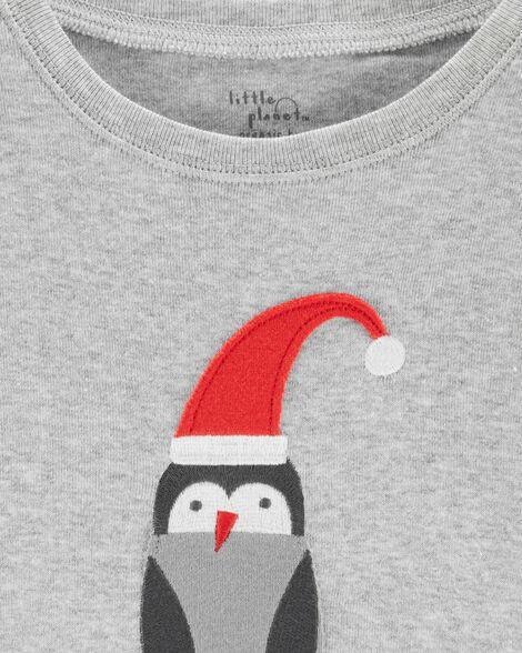 2-Piece Christmas Organic Cotton Snug Fit PJs