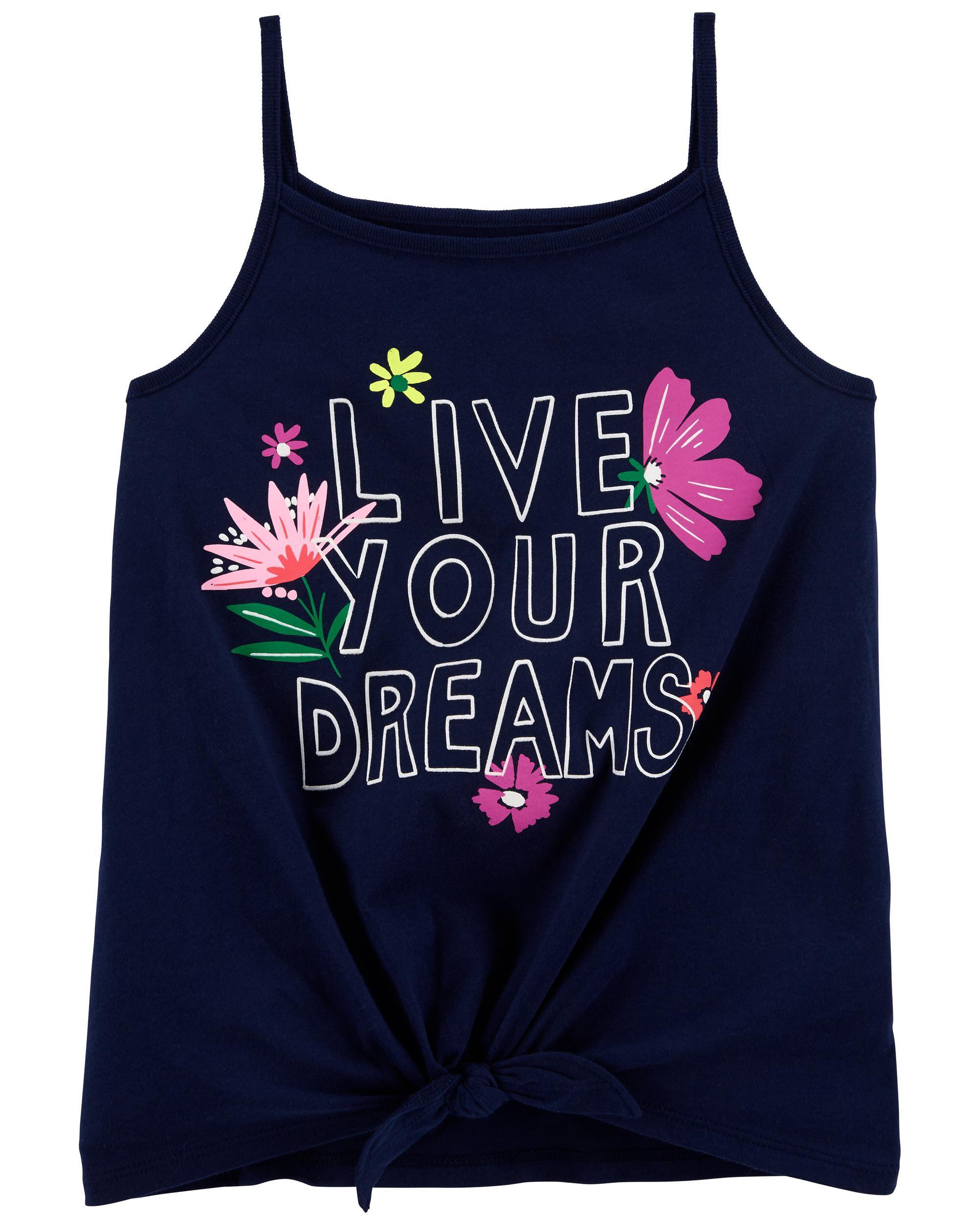 *DOORBUSTER* Live Your Dreams Jersey Tank