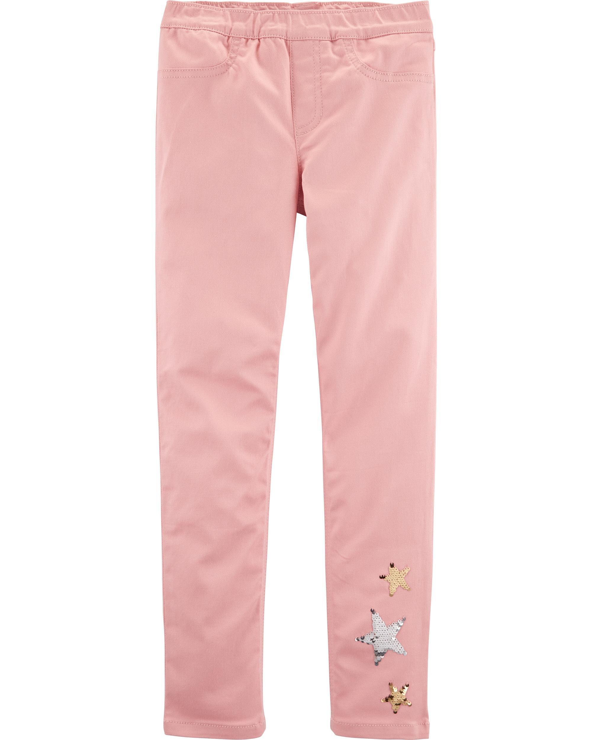 3T Carters Little Girls 5-Pocket Stretch Twill Pants