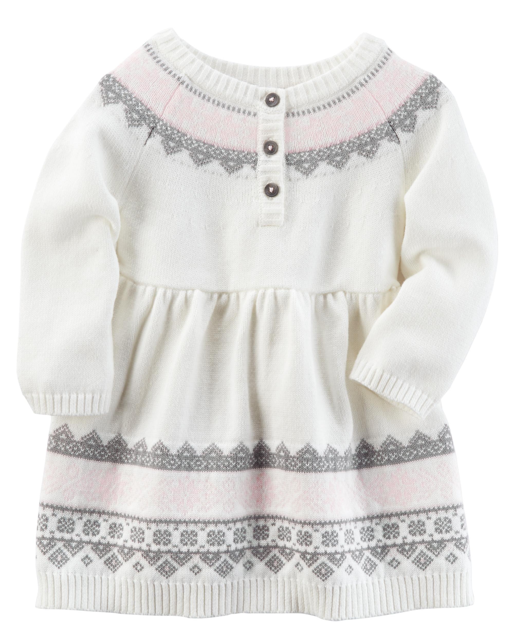 Sweater Knit Dress Carters Com