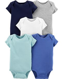 3859f9034 Baby Boy One-Piece Bodysuits, Multi-Pack Bodysuits | Carter's | Free ...
