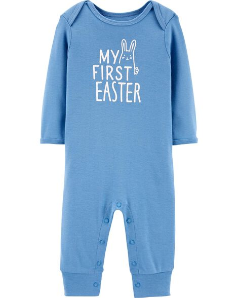 1b09158fc7ac Easter Bunny Jumpsuit   Carters.com