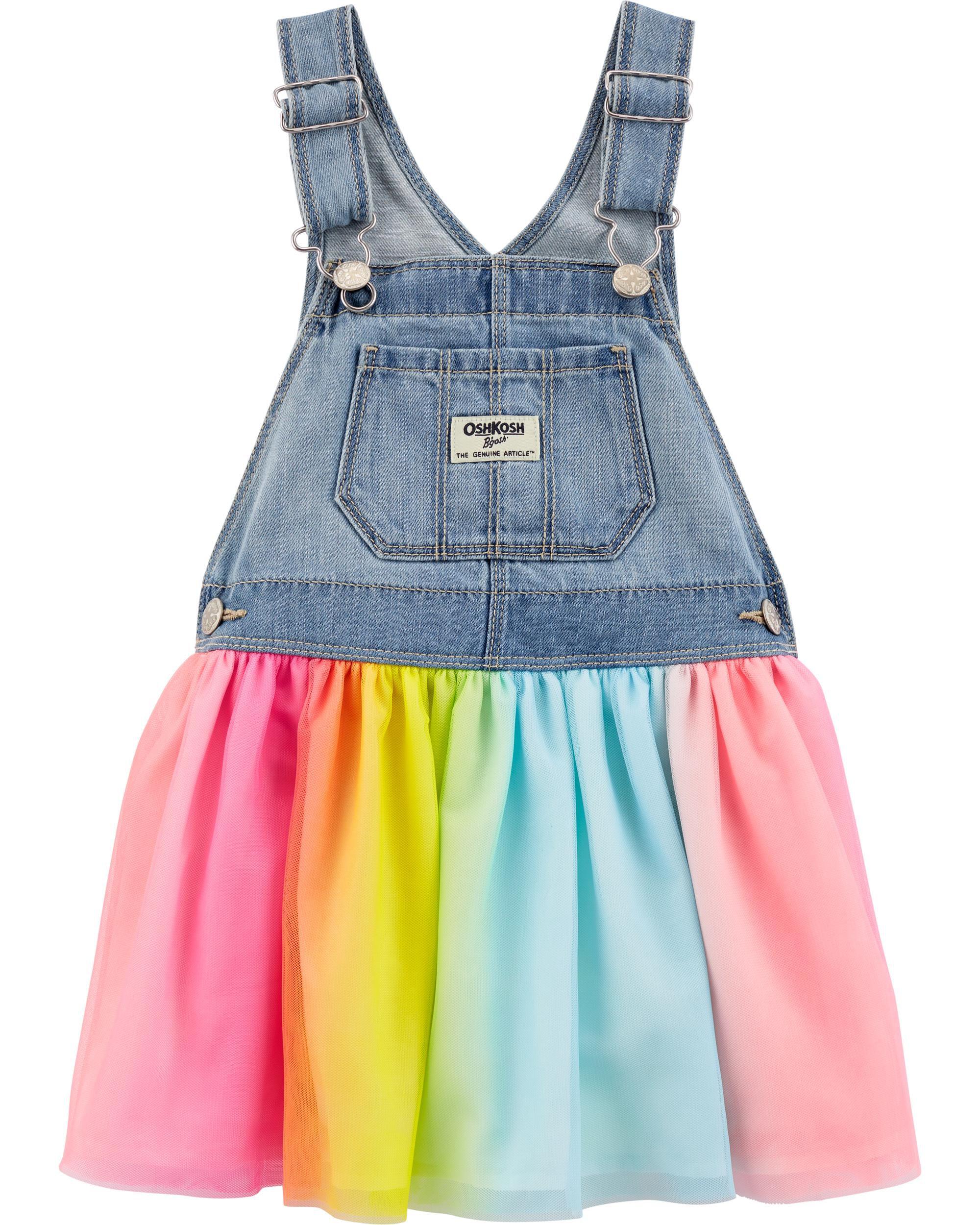 *CLEARANCE* Rainbow Tulle Jumper