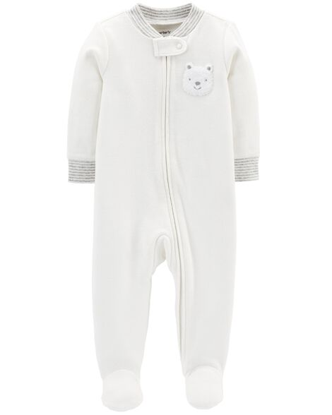 fc545d7c932a Bear Zip-Up Cotton Sleep   Play