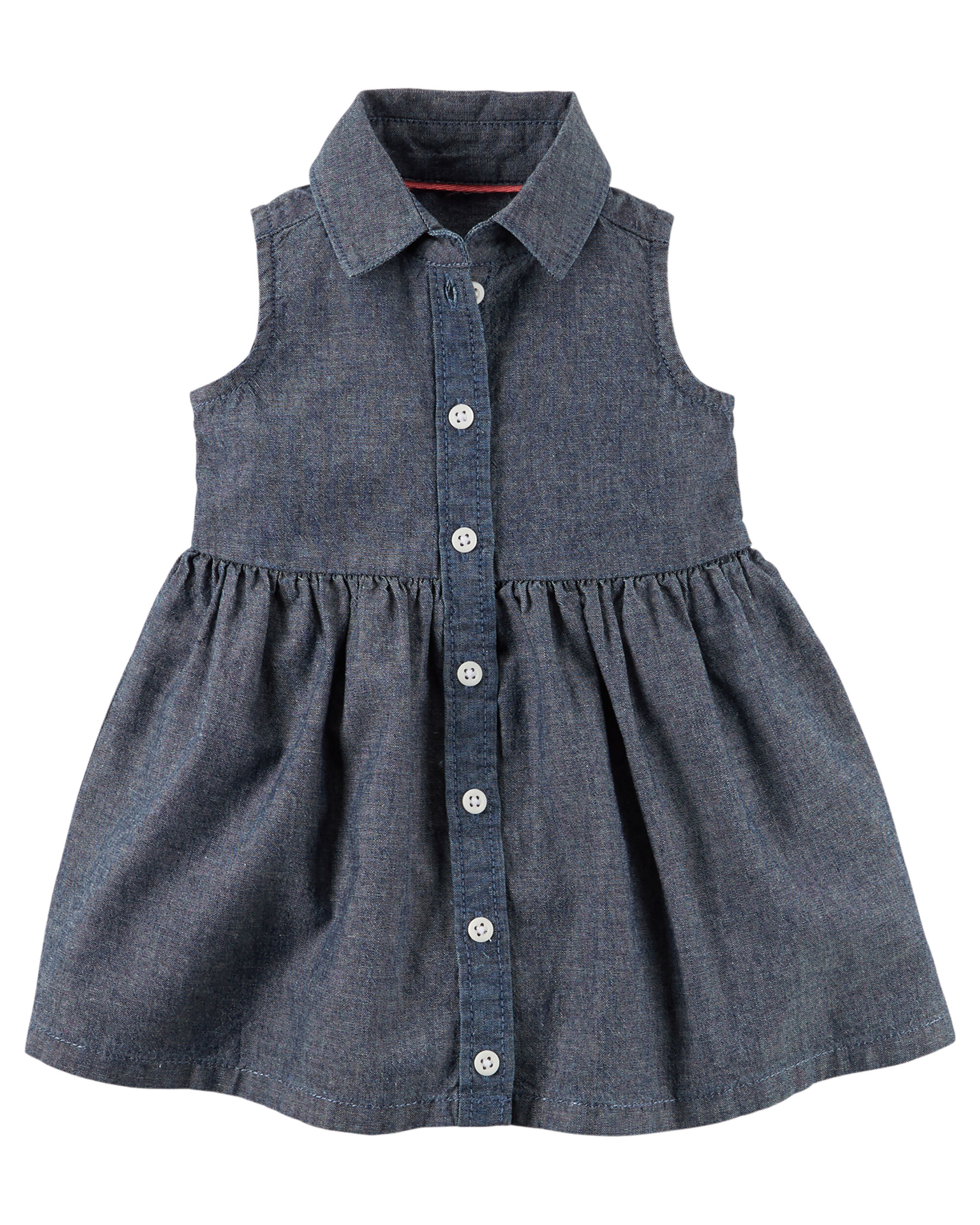 Baby Girl Denim Shirt Dress Newest and Cutest Baby Clothing