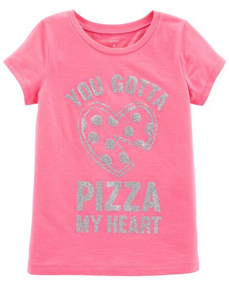 49b5b739 Pizza My Heart Jersey Tee | Carters.com
