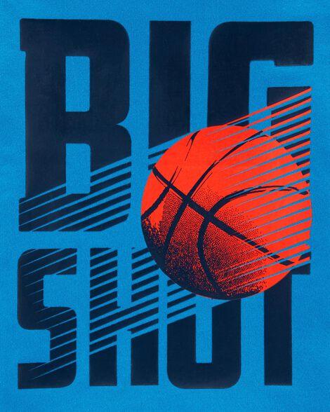 Big Shot Basketball Jersey Tee