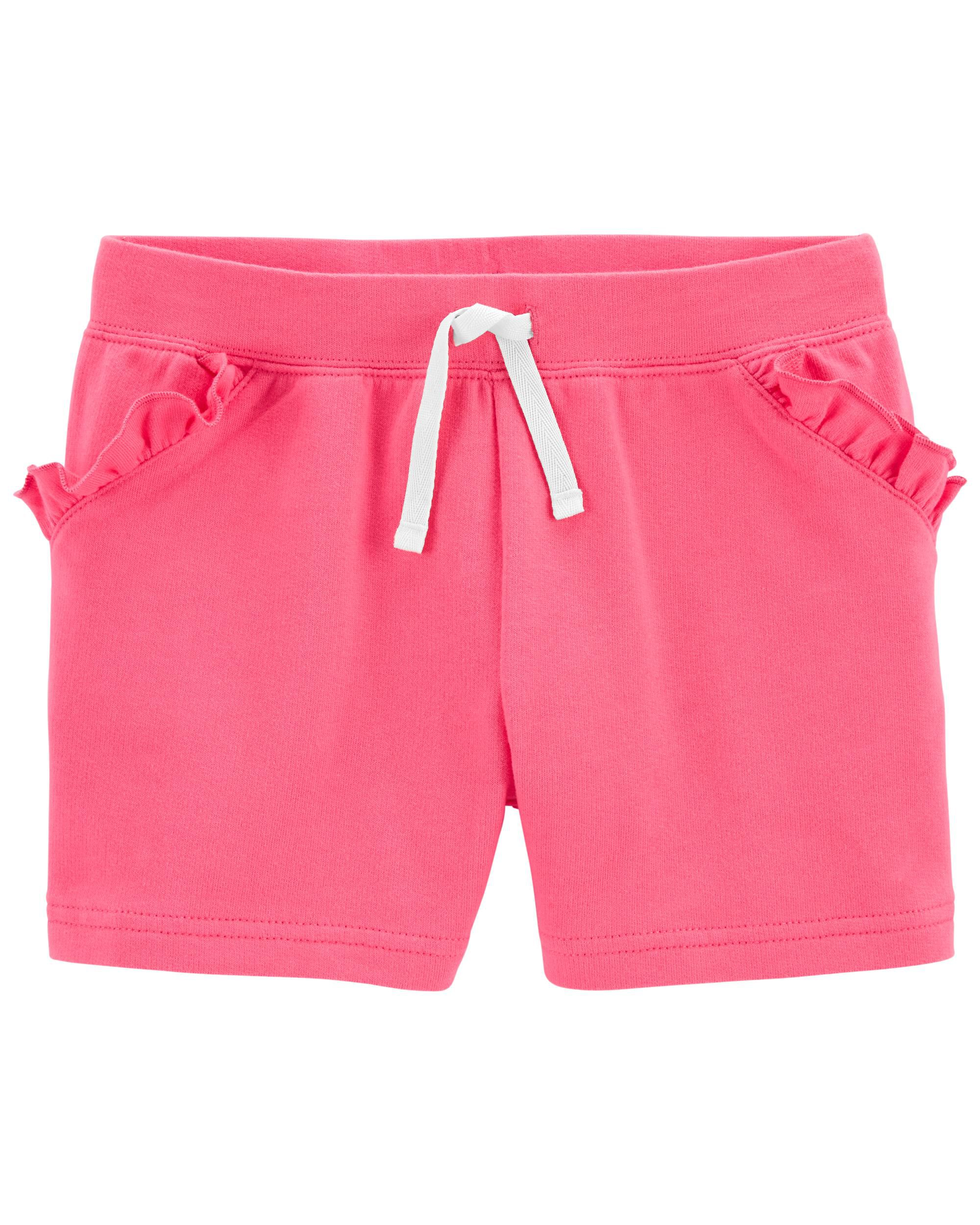 *DOORBUSTER* Ruffle Pull-On French Terry Shorts