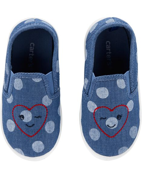 Carter's Polka Dot Casual Sneakers