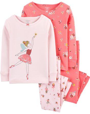 4-Piece Pajamas