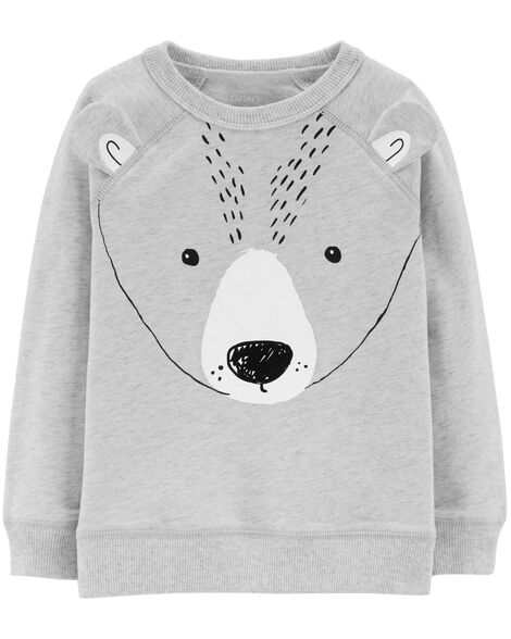 Bear French Terry Pullover