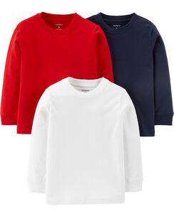 b643e855c Long Sleeve Tees | Toddler Boy Tops | Carter's