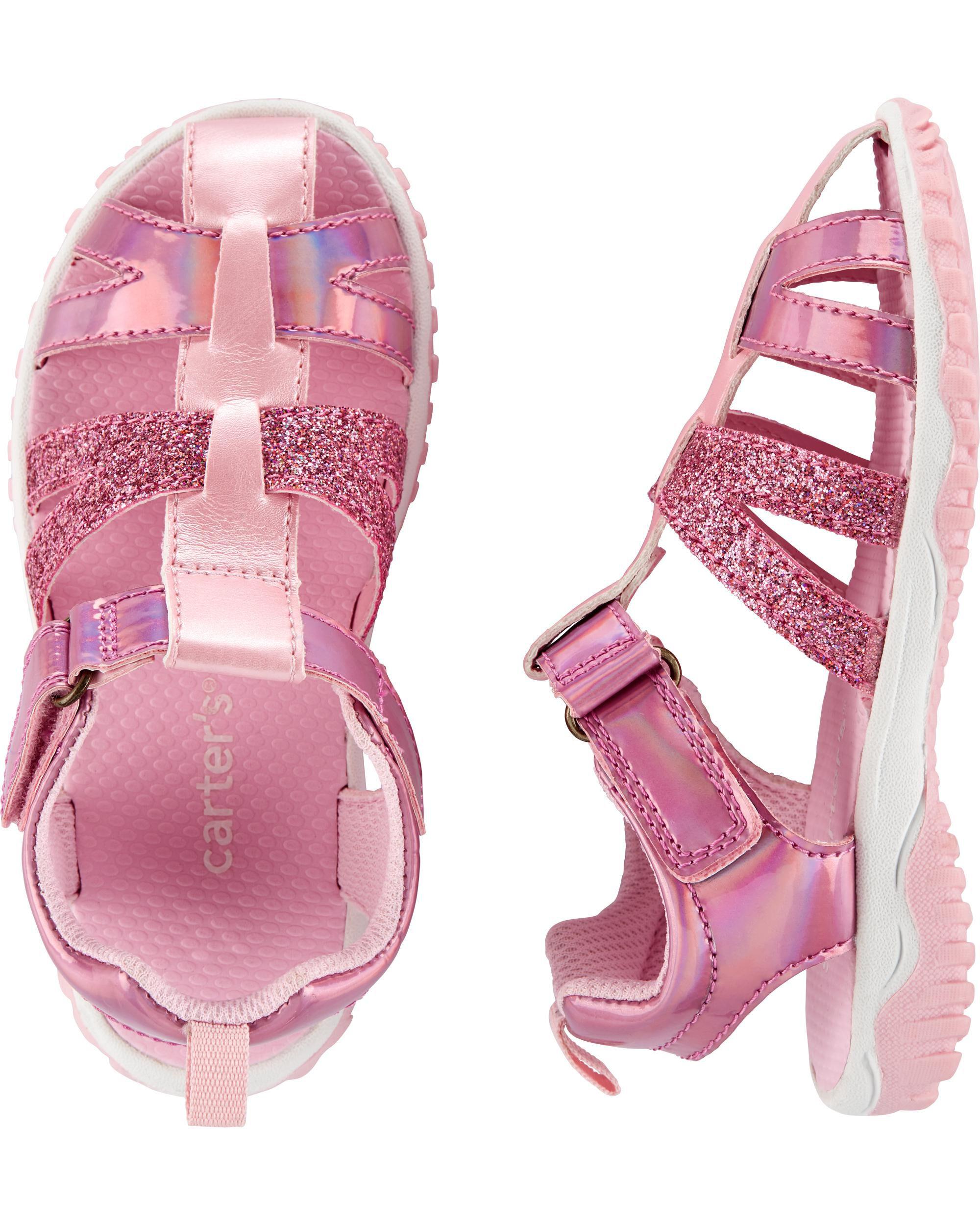 Glitter Fisherman Sandals