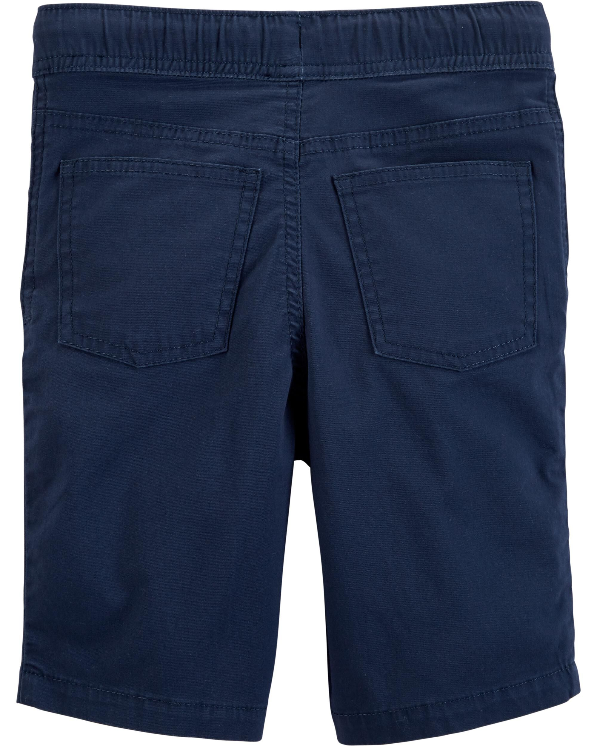 Carters Pull-On Super Stretch Denim Shorts