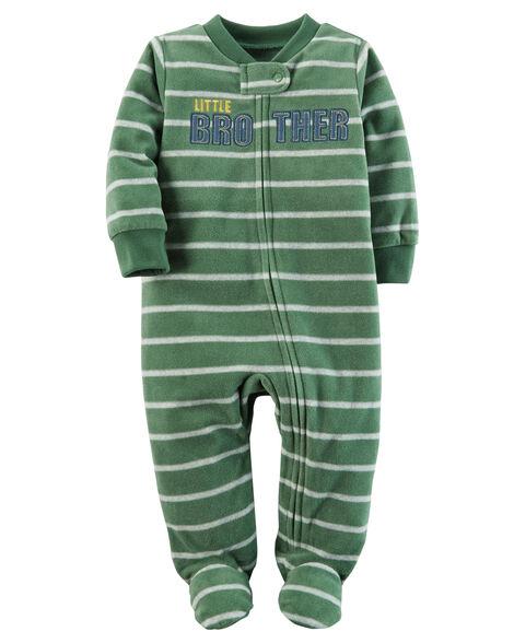 c79beeba9 Little Brother Zip-Up Fleece Sleep & Play | Carters.com