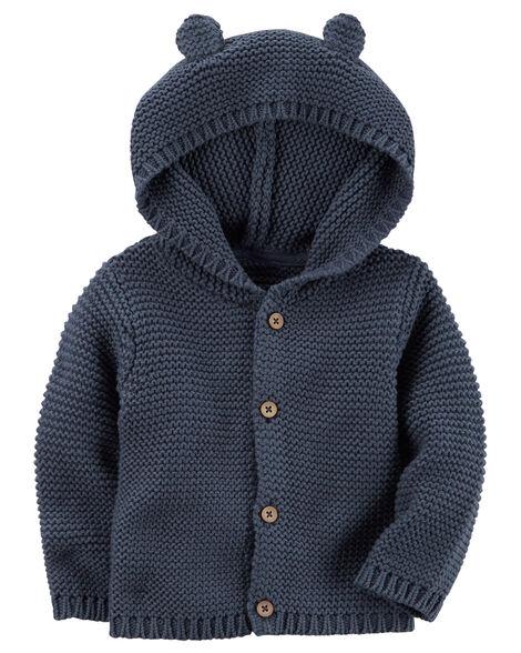 ac0296bc5b35 Hooded Cardigan