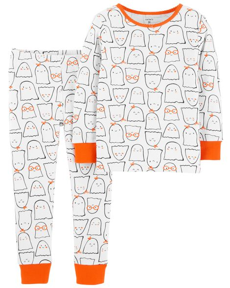 2-Piece Halloween Snug Fit Cotton PJs