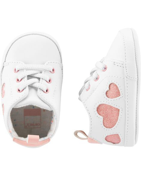 Carter's Heart Sneaker Baby Shoes
