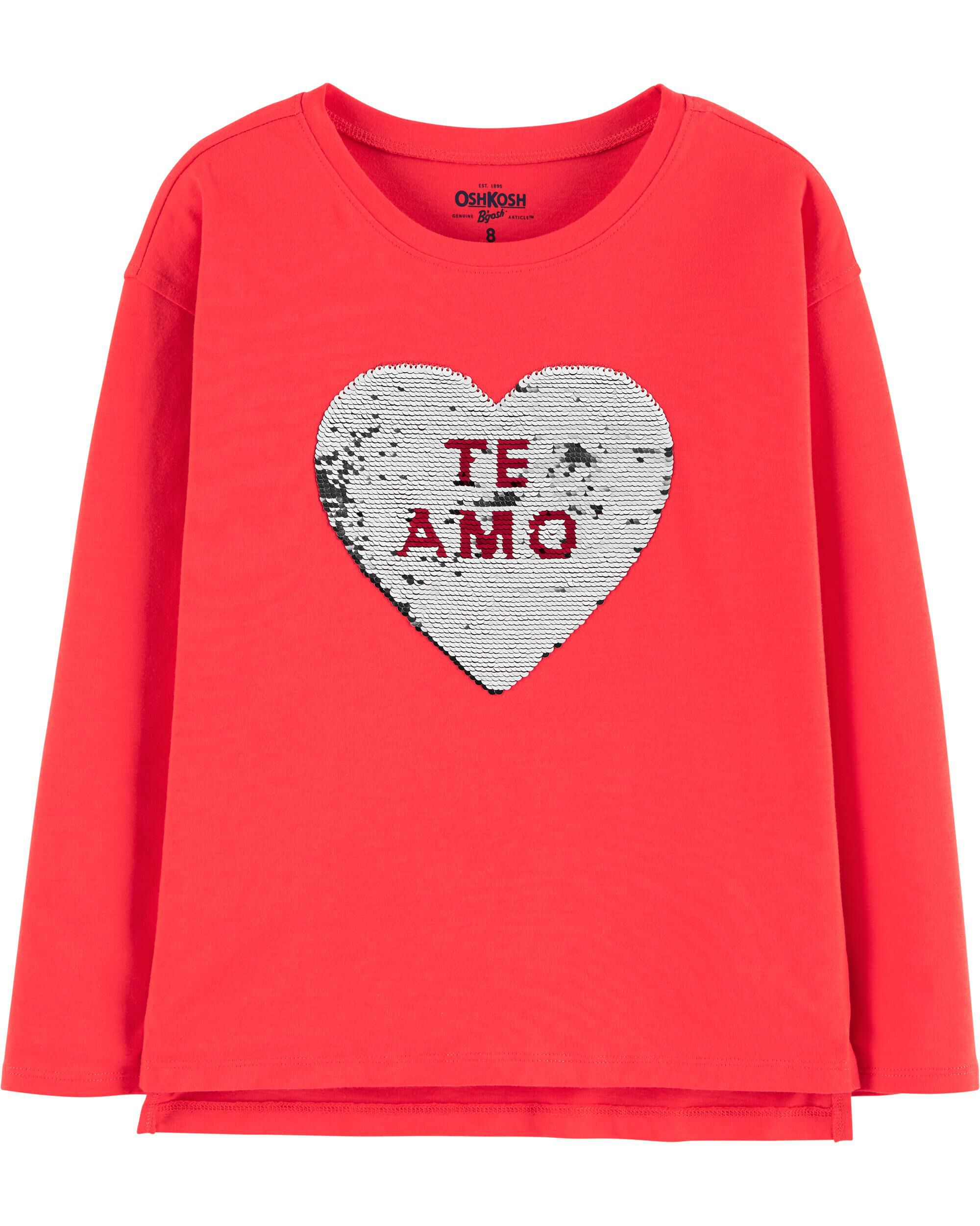 *CLEARANCE* Flip Sequin Valentine's Day Tee
