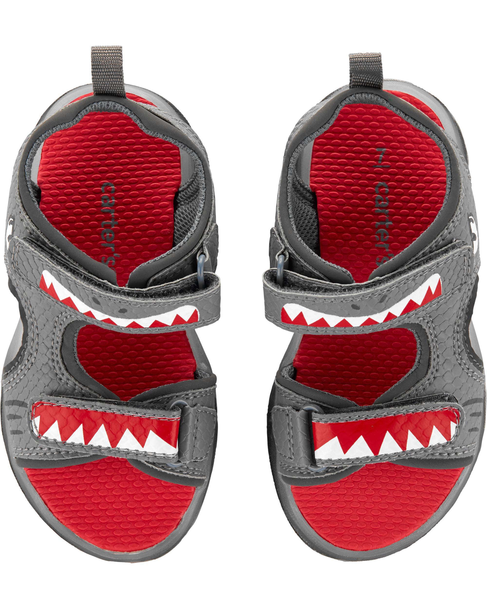 carters shark shoes