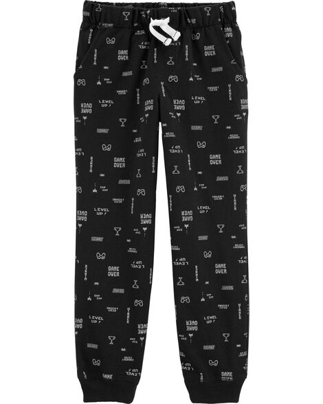 Gamer Pull-On French Terry Joggers