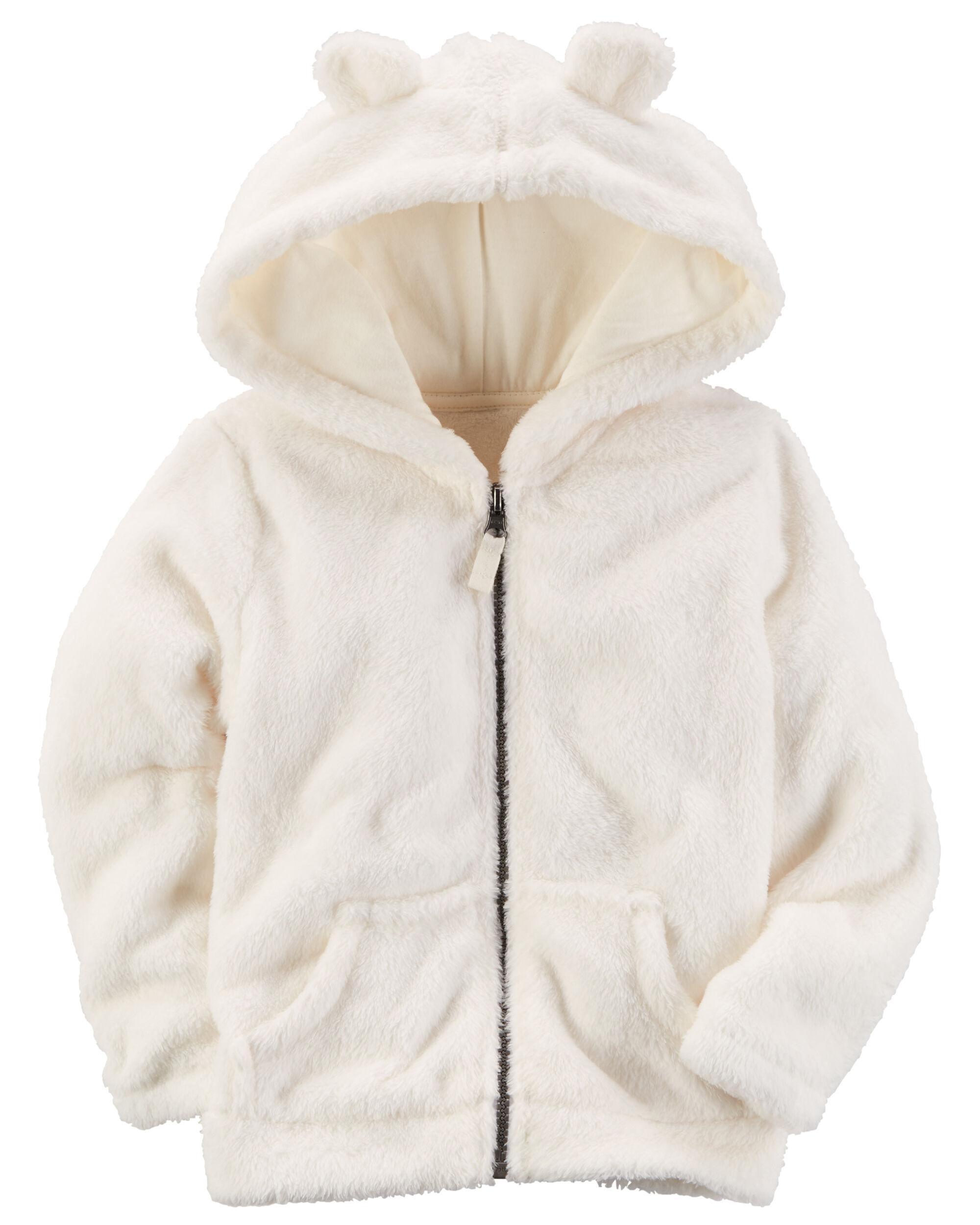 Snow Fleece Hoodie | Carters.com