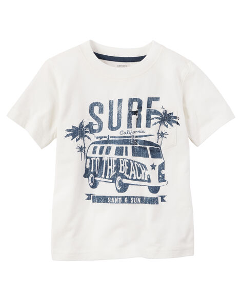3f91dee3a Surf Graphic Tee | Carters.com