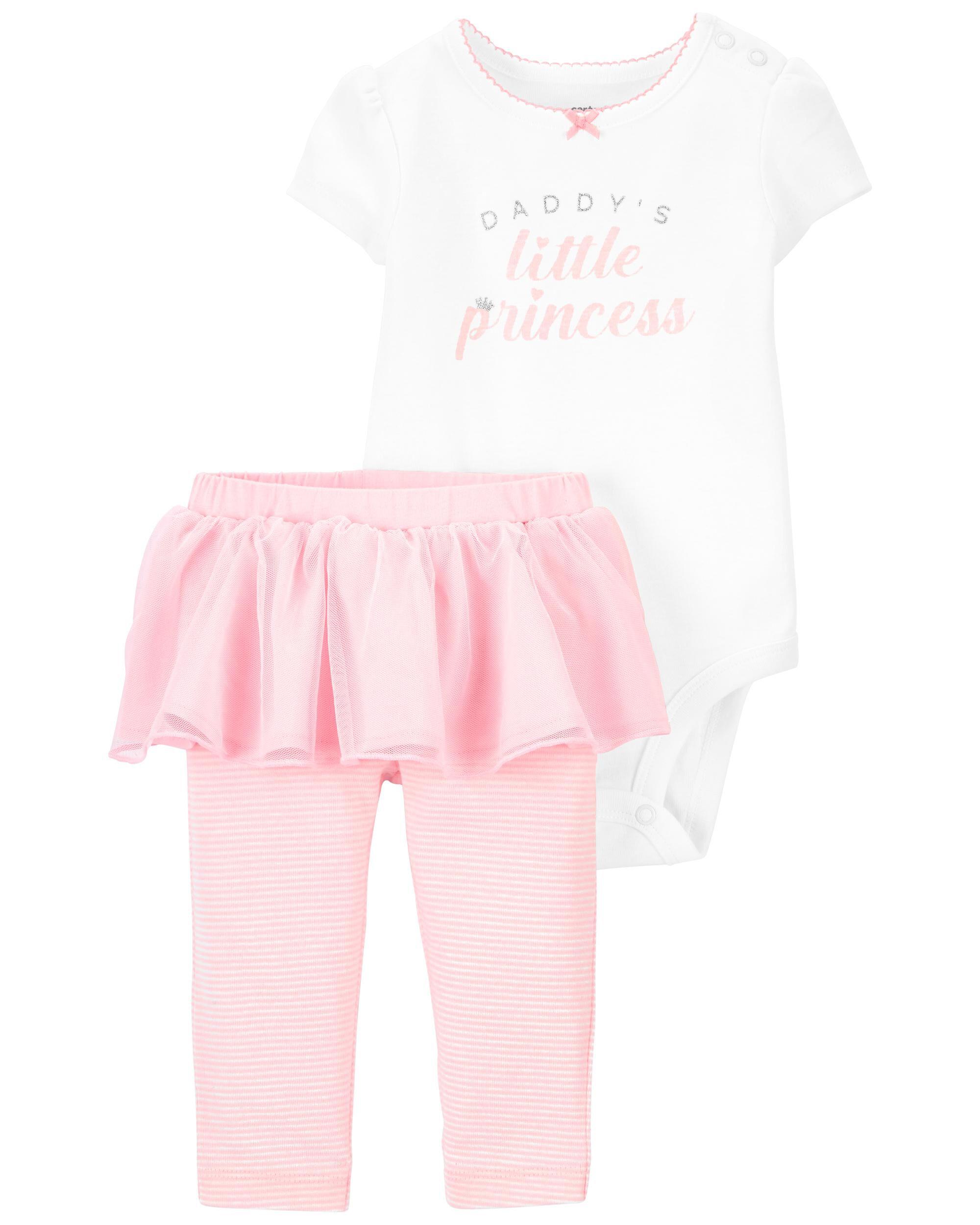 *DOORBUSTER* 2-Piece Princess Bodysuit & Tutu Pant Set