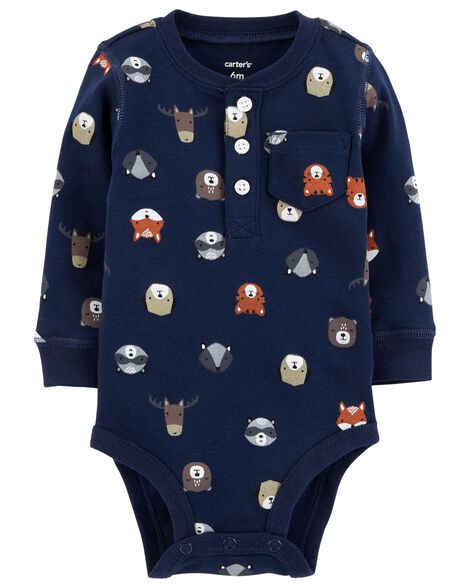Baby Boy Character Collectible Bodysuit