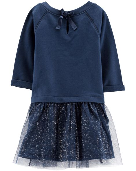 Tutu French Terry Dress