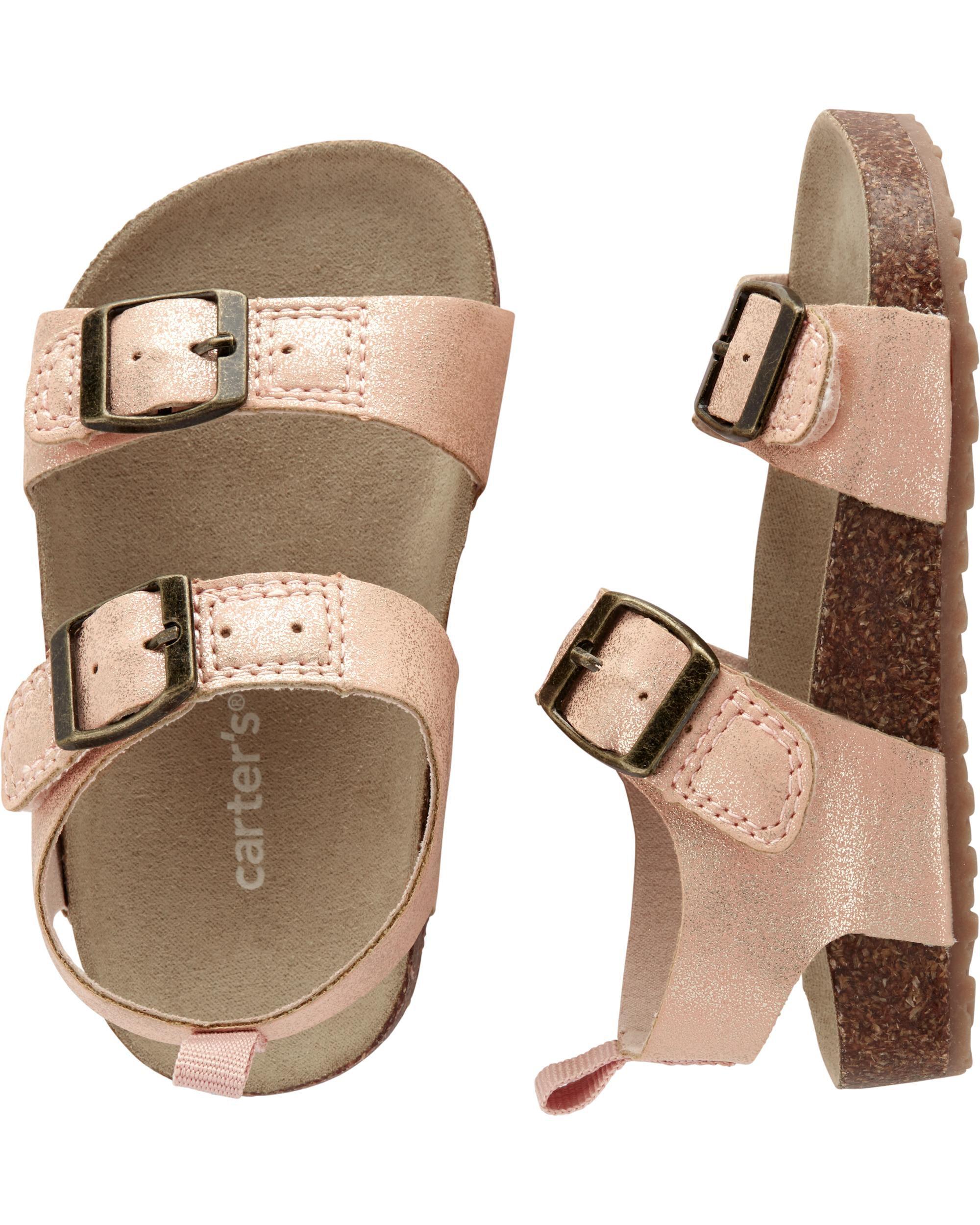 Carter's Buckle Cork Sandals | carters.com