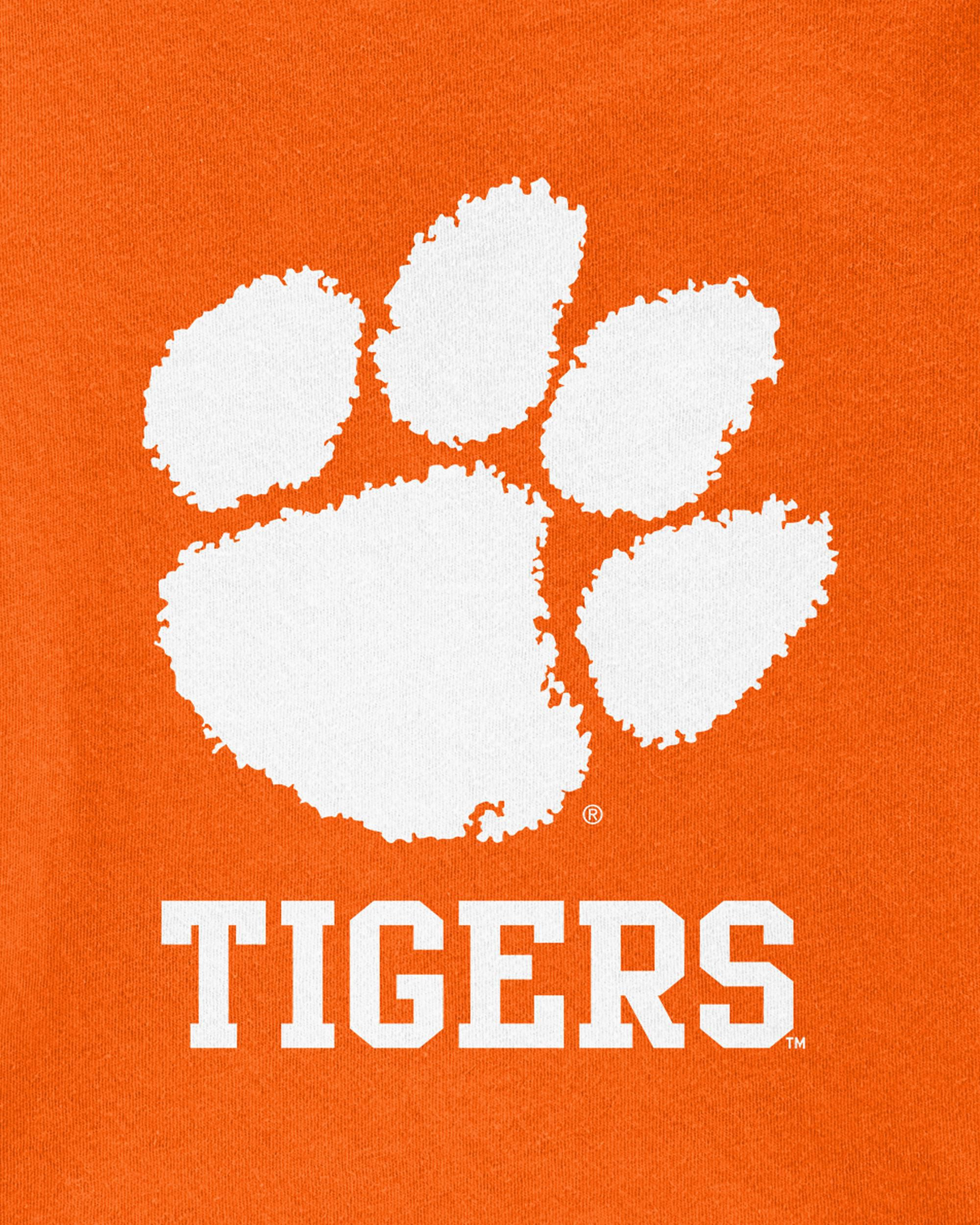 Clemson Tigers Tshirt Toddler T-Shirt Tee Love Watching With Daddy