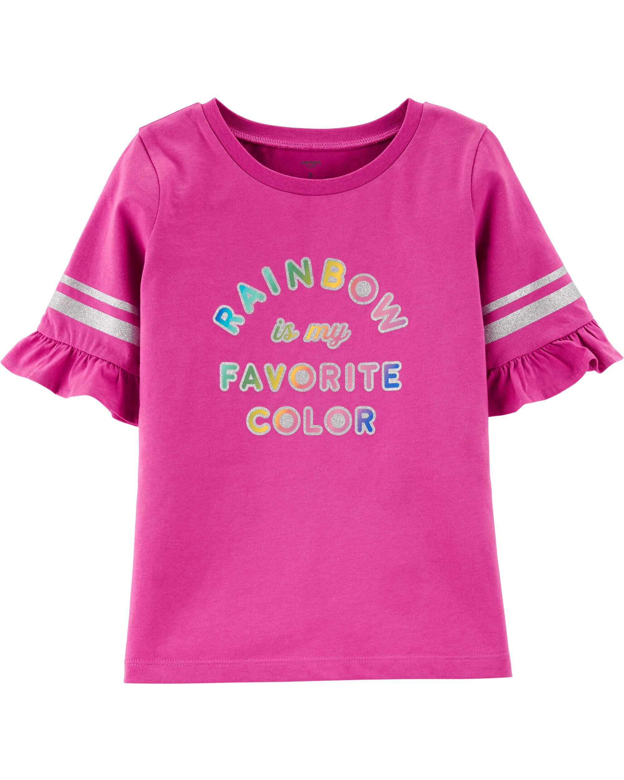 Rainbow is My Favorite Color Toddler T Shirt