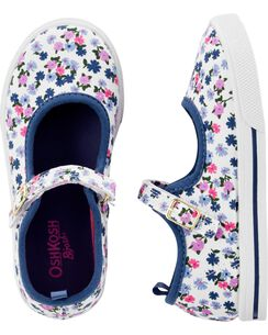 OshKosh Floral Print Mary Jane Shoes