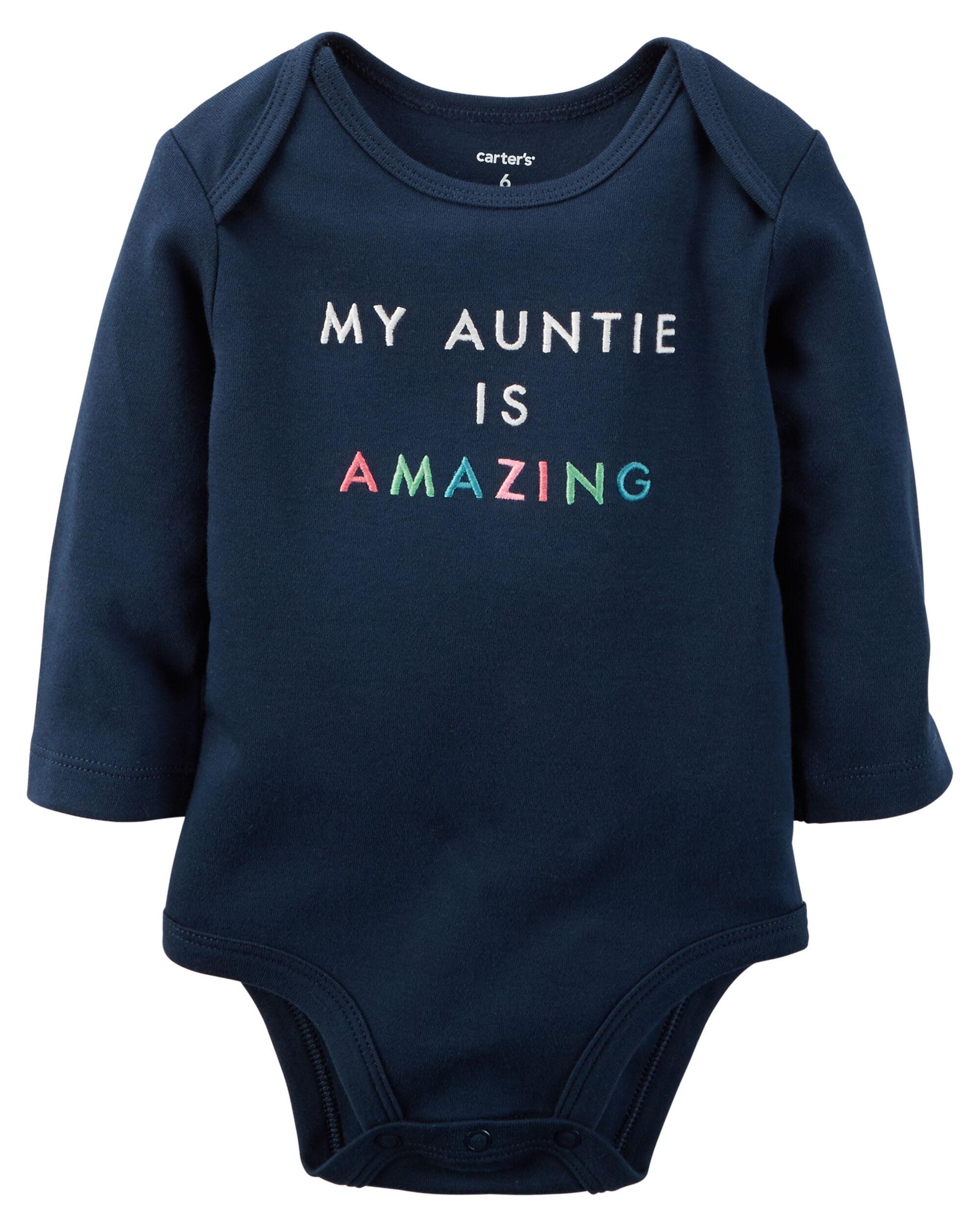 Amazing Auntie Collectible Bodysuit