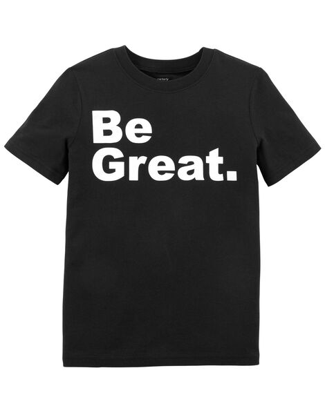Be Great Jersey Tee