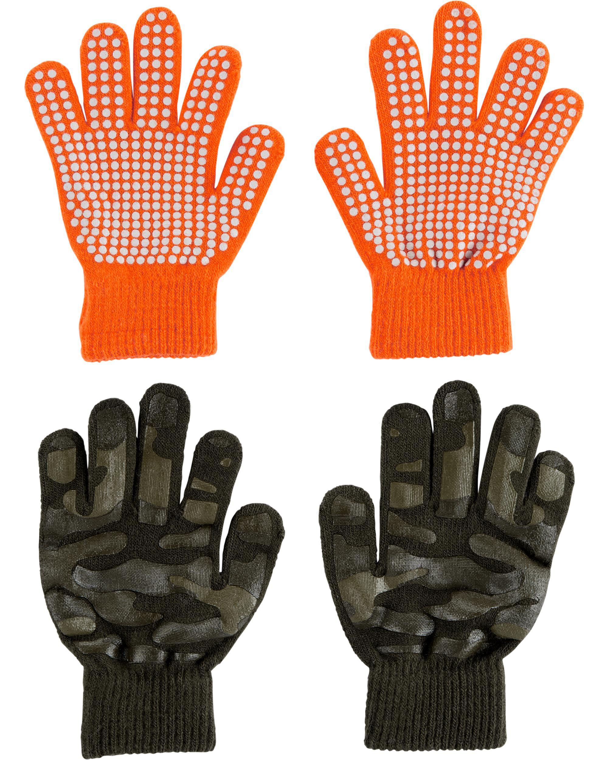 2-Pack Camo Gripper Gloves