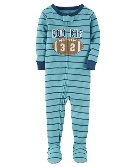 1-Piece Rookie Snug Fit Cotton PJs
