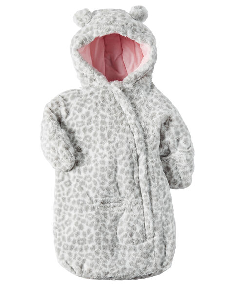 6fd2c06f5 Carter s Hooded Faux Fur Bunting