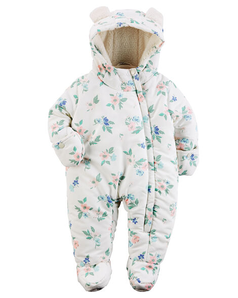 b2565911b Carter s Hooded Floral Bunting