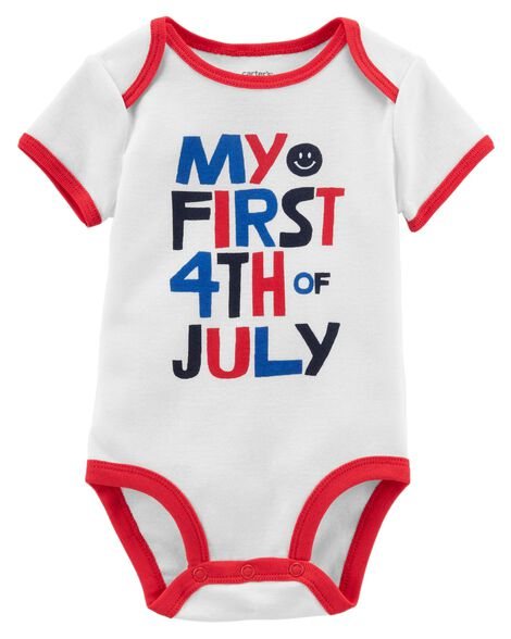 e1187ae4b 4th Of July Collectible Bodysuit | Carters.com