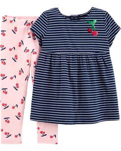 17a0b6a28 Girls Tops & T-Shirt Sets | Carter's | Free Shipping
