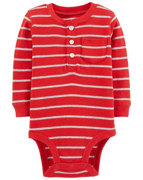 105d4b78d56e Striped Collectible Bodysuit