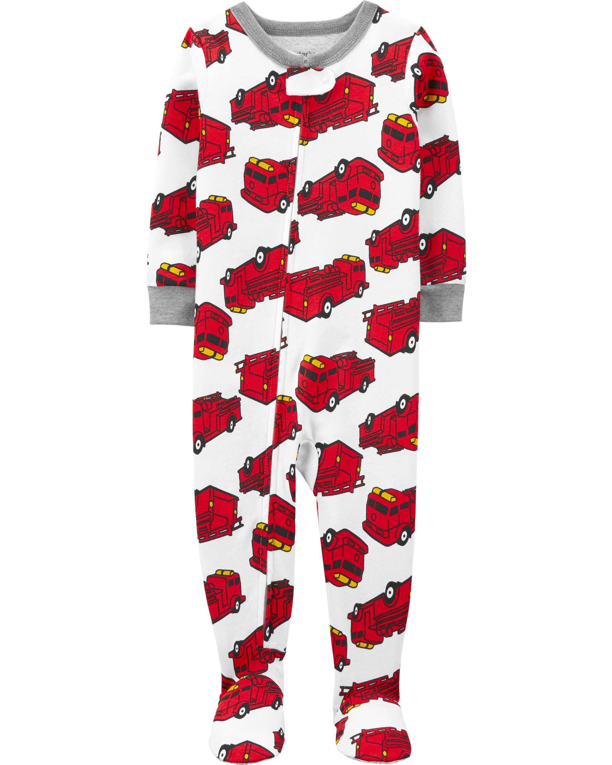 Carters Boys 1-Piece Pajama Suit